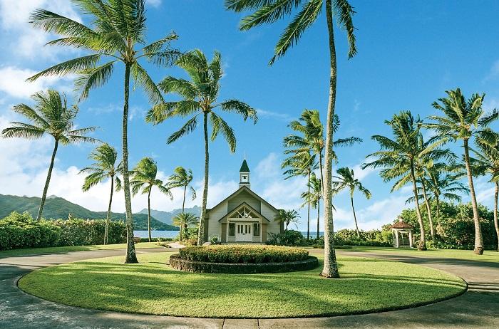 アロハ・ケ・アクア・チャペル(ハワイ)での基本挙式プランの内容と価格